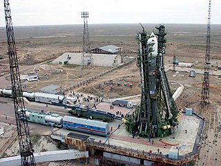Soyuz FG Rocket - Launch Pad, Baikonur