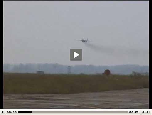 Low Level Pass, MIG-29 military fighter