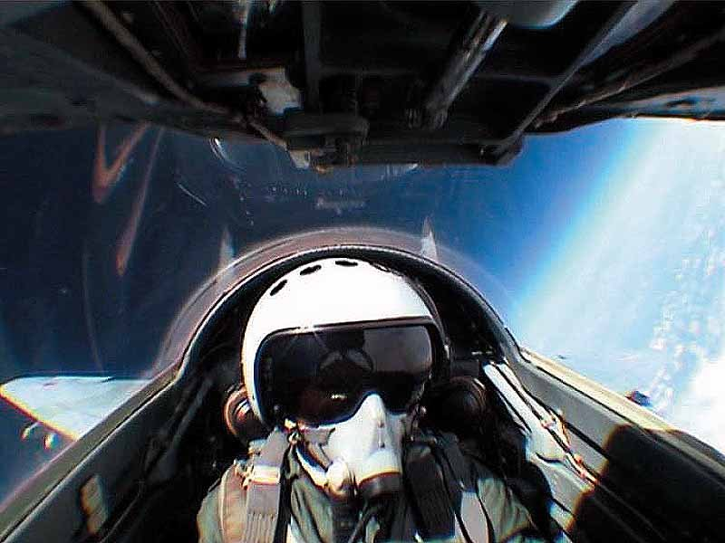 Edge of Space and Supersonic Aerobatics Flight on a MiG Fighter