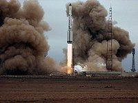 Baikonur ISS Rocket Launch