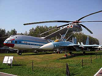 Open air Aviation Museum, Monino, Russia